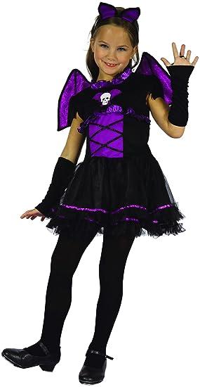Disfraz de murciélago niña - 4 - 5 años (S): Amazon.es: Juguetes y ...