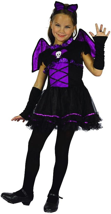 Costume da pipistrello viola bambina 8 9 anni (128 134)  Amazon.it ... ecd240b63036