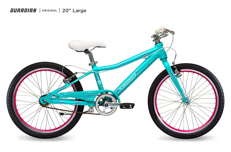 Amazon Com Guardian Lightweight Kids Bike 20 Inch Safe Patented