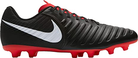 617587c18 Amazon.com: Nike Tiempo Legend 7 Club FG Soccer Cleats (Black/Red ...