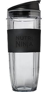 Tazas con tapa Nutri Ninja (1 unidades de 900 ml)