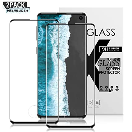 Samsung Screen Protector Tempered Glass Anti-Fingerprint No-Bubble Scratch-Resistant Samsung Galaxy Screen