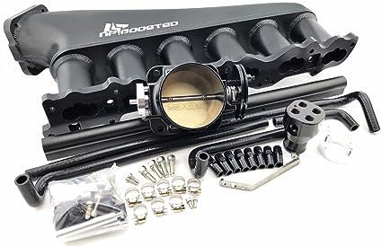 50bc4f5335baf Amazon.com: R33 SKYLINE GTS-T GTS 2.5L RB25DET INTAKE MANIFOLD 90MM ...