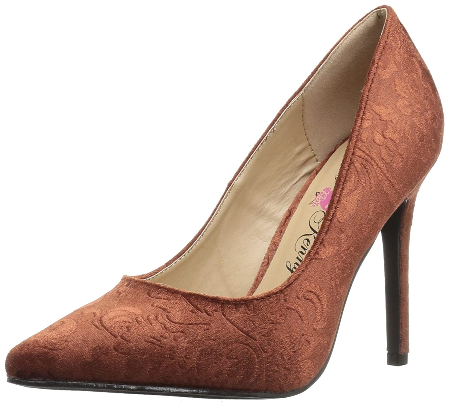 Penny Loves Kenny Women's Opus BV Pump B073WMYR9N 9.5 B(M) US|Bronze Velvet