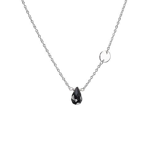 Amazon black tourmaline necklace black jewelry black crystal black tourmaline necklace black jewelry black crystal necklace tourmaline quartz pendant black aloadofball Image collections