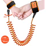 Anti Lost Wrist Link, 360 Degree Rotating Connectors,Outdoor Safety Harness for Children, Kids