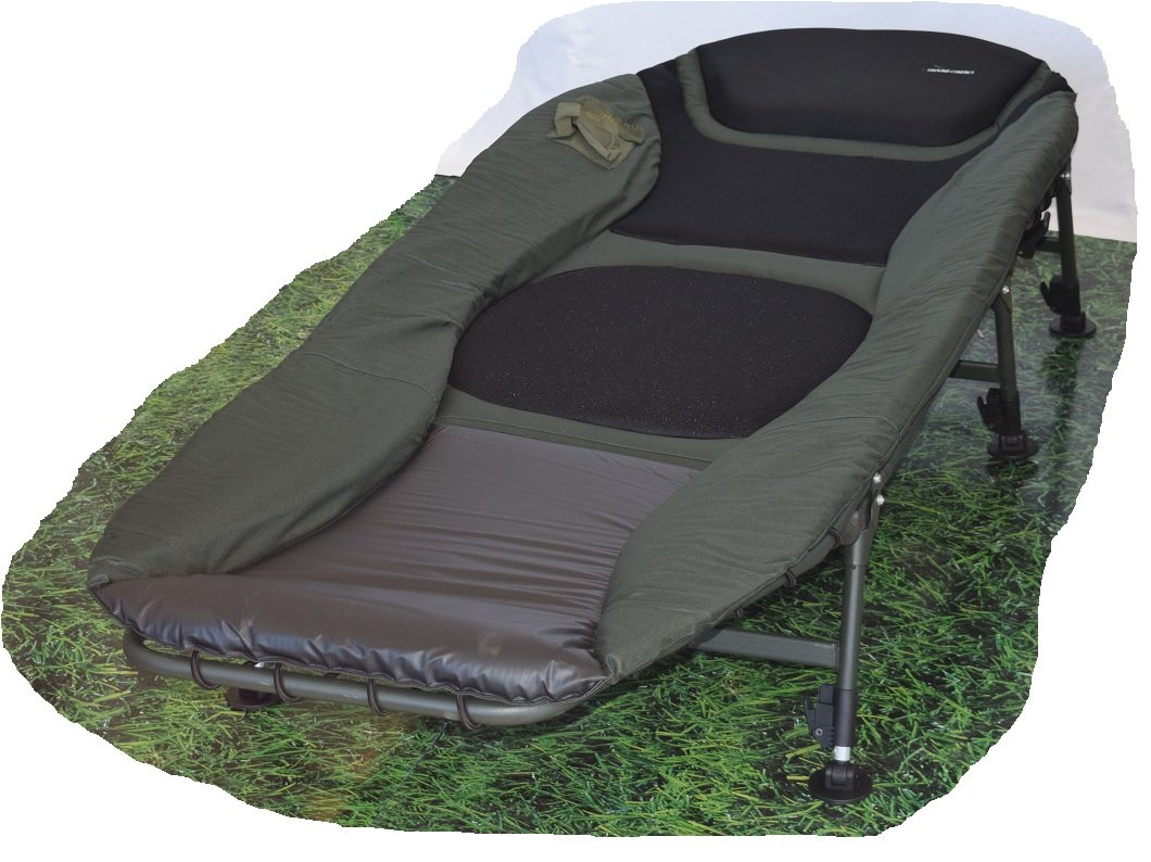 Ground Contact Bedchair Deluxe (Karpfenliege / Campingliege)