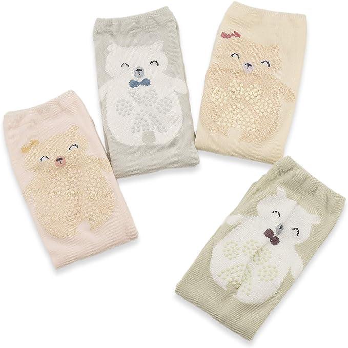 Baby Boy Girl Crawling Knee Socks Cotton Winter Keep Warm Cartoon Socks