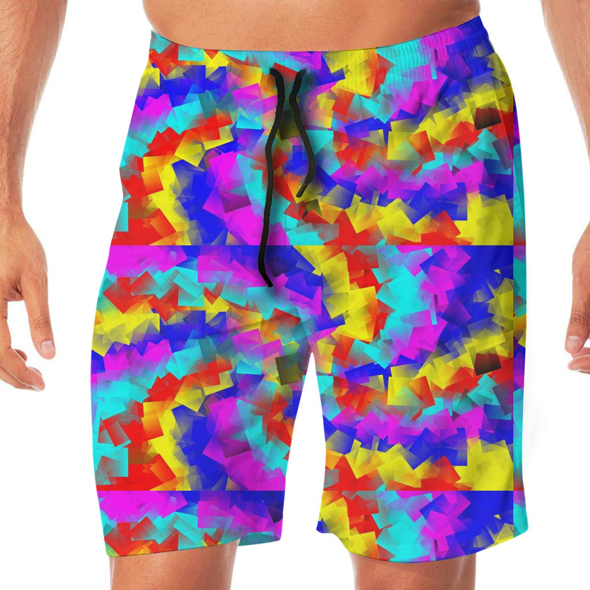 XXL L Cbyan Beach Briefs Mens Swim Trunks Swim Board Shorts with Pockets M XL