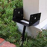 MTB U Shape Fence Post Holder Ground Spike Post