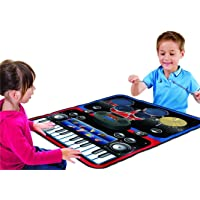 SR TOYS 2-in-1 Musical Jam Playmat/Carpet Piano, Toy for Kids Above 3 Years (Multicolour)