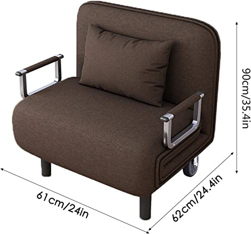 Convertible Bed Chair Sleeper Folding Sofa Sleeper Leisure Recliner Lounge Couch