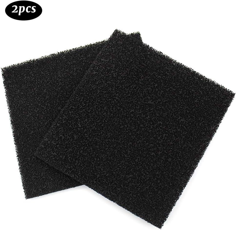 JUN-H 2 Piezas Carbono Filtro De Almohadilla De Desodorante De Carbón Activado Filtro De Carbón Activado Para Cubo Y Cubo De Compostaje Filtro De Carbón Activado Con Tapa: Amazon.es: Productos para mascotas