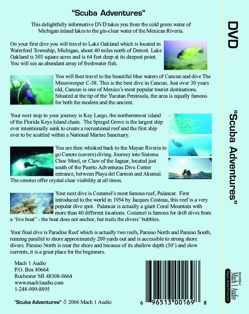 Scuba Adventures by Mach 1 Audio