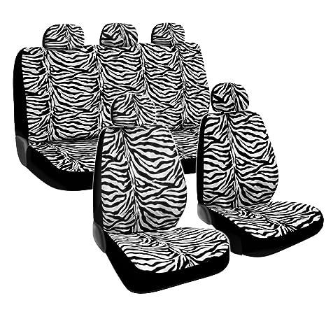 BDK Zebra Car Seat Covers