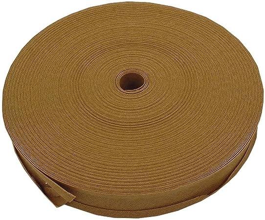 16 mm cinta bies ribete 100% algodón – Beige – 5 M: Amazon.es: Hogar