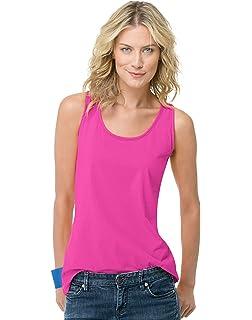 68130bfd963 Amazon.com  Hanes Women s Scoop-Neck Tank Top  Clothing