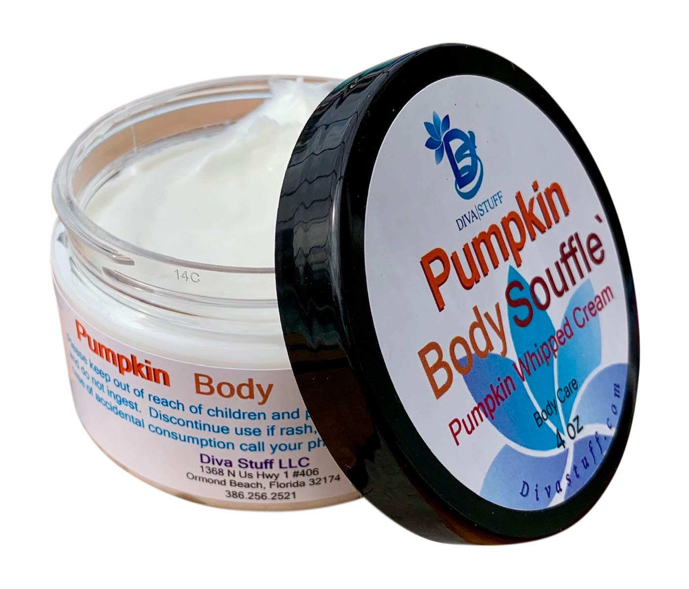 Pumpkin Souffle Body Cream By Diva Stuff, 4 Oz by Diva Stuff