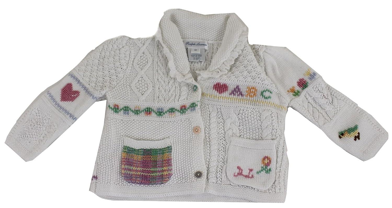 Polo Ralph Lauren - Pantalón Corto - para niña Blanco Blanco 6 ...