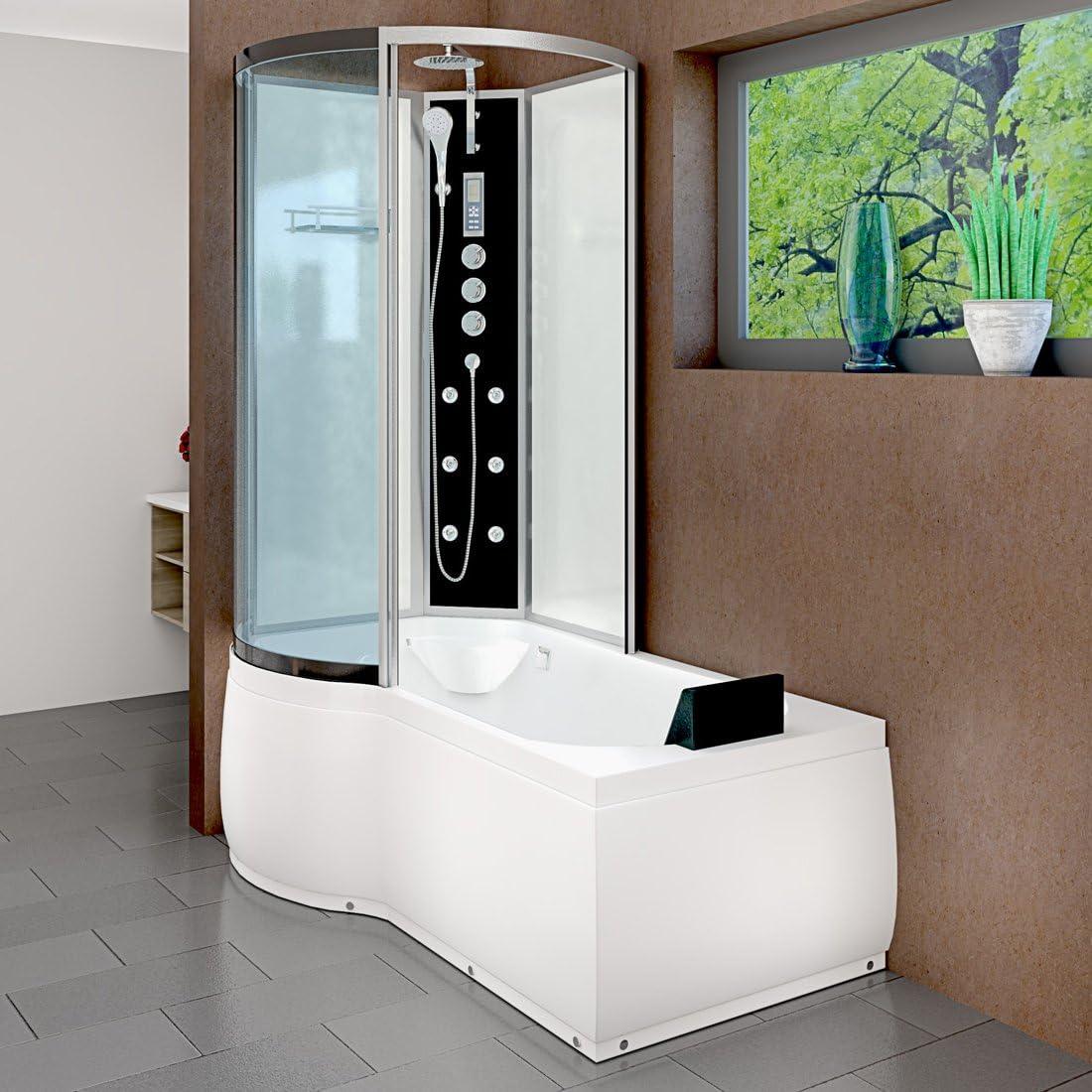 Acqua Vapore dtp8050 de a005r bañera ducha Templo bañera ducha cabina de ducha 98 x 170, Blanco 20.00 wattsW, 230.00 voltsV: Amazon.es: Bricolaje y herramientas