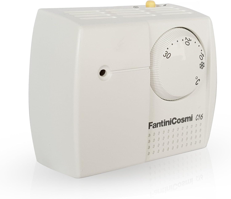 Fantini Cosmi -Termostato electromecánico de dilatación de Gas ...