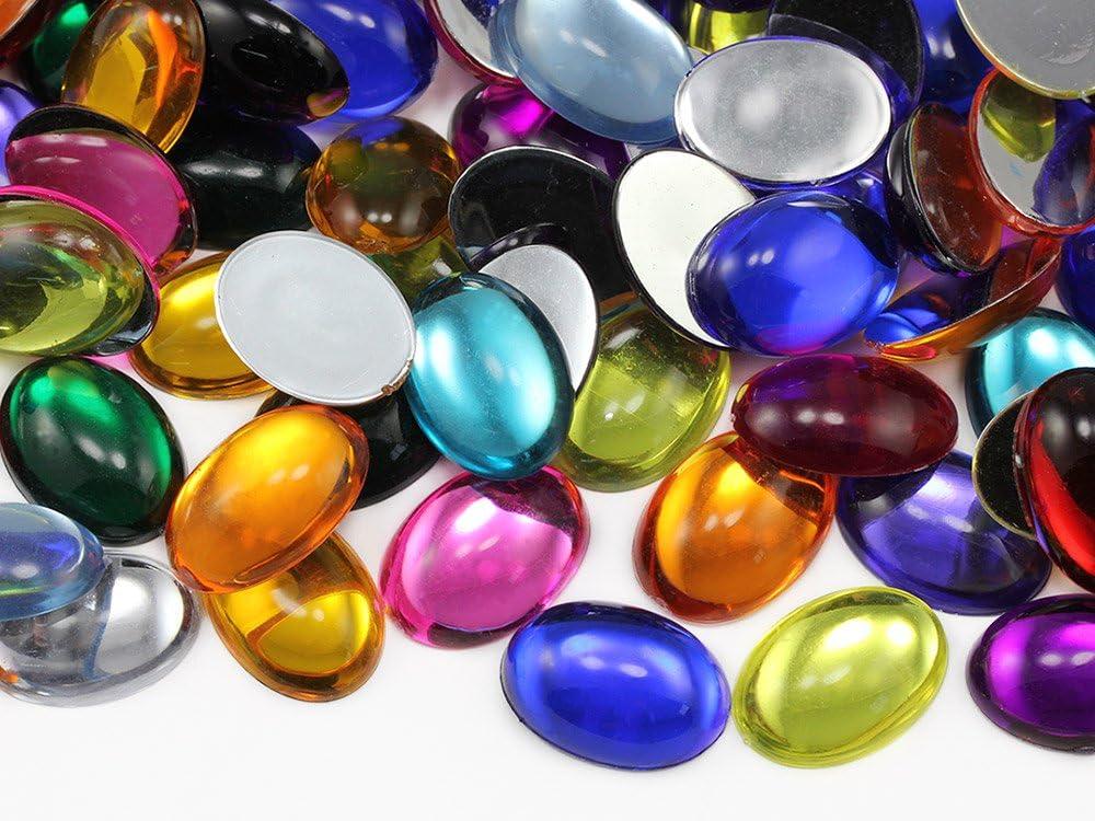 Byzantium Color 0837 Honeycomb Cut Oval Shape Cabochon 1pcs 14x10mm Amazing Vintage Glass Jewel Byzantium Glass Cabochon Flat Back
