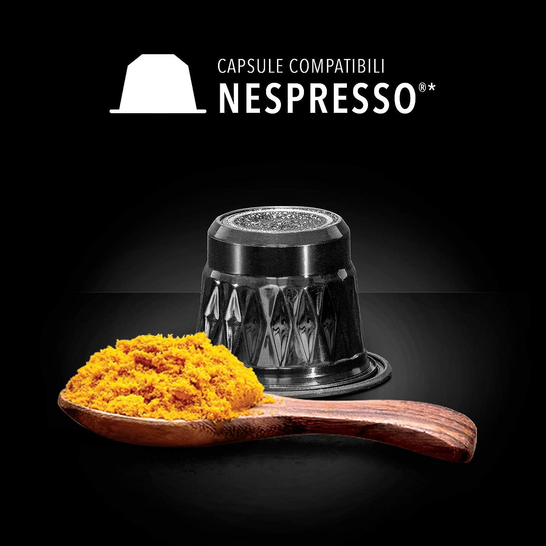 King Cup - Golden Milk sin azúcar - 5 paquete de 50 Cápsulas Compatibles con Nespresso®* (50 cápsulas): Amazon.es: Alimentación y bebidas