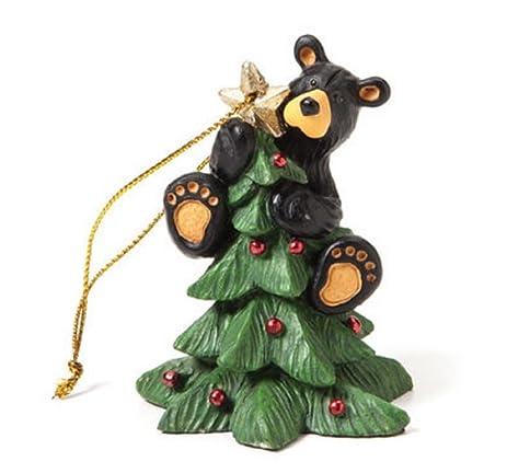 big sky carvers tree topper bear ornament by big sky - Bear Christmas Tree