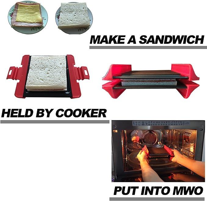 Amazon.com: Microondas Sandwich cooker-fast Cook Ware ...