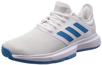adidas Game Court Parley Femmes Chaussure de Tennis (Blanc