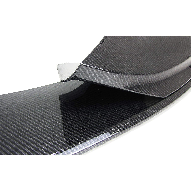 Tenzo-R 34256 Front Spoiler Lippe Ansatz Sto/ßstange Sport Optik Carbon Look