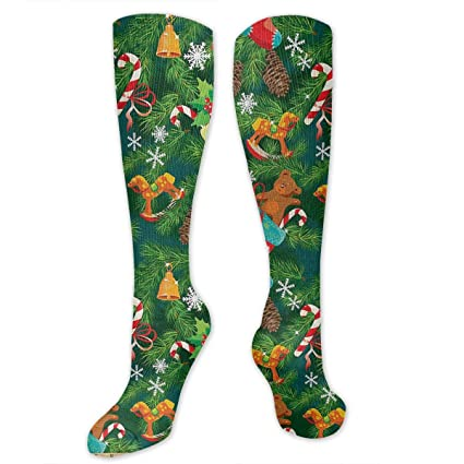 0a481ae4c9f Image Unavailable. Image not available for. Color  Chanwazibibiliu Xmas  Accessories Stockings ...