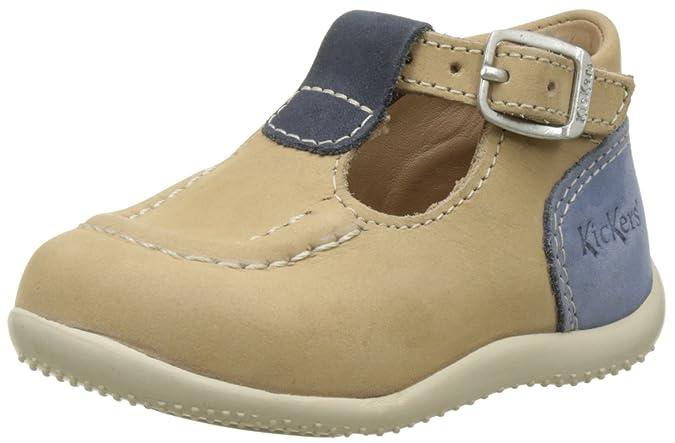a89d679a2 Kickers Bonbek - Primeros Pasos de Otra Piel Bebé-Niñas  Amazon.es  Zapatos  y complementos