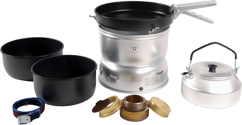 Trangia 25 - Utensilios para Cocina de Acampada (con hervidor ...
