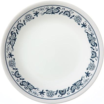 Corelle Livingware Old Town Blue 6 3 4 Bread Butter Plate Corelle Livingware Bread And Butter Plates Bread Butter Plates Amazon Com