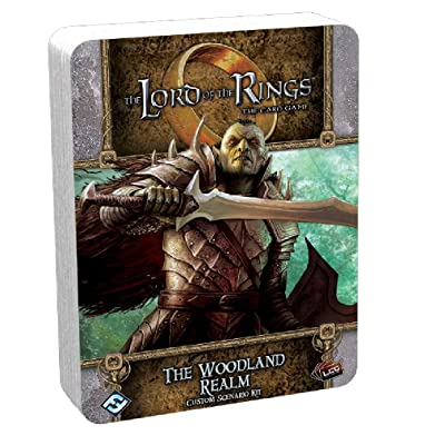 Lord of the Rings Card Game: The Woodland Realm Custom Scenario Kit FFGUMEC76: Toys & Games