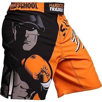 MMA BJJ Grappling Fitness Kampfsport Hardcore Training Fight Shorts Mens MMArio Boxen Kurze Hose Herren