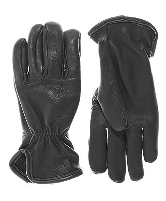 d85b6dfa97a51 Geier Glove Men's Merino Wool Lined Deerskin Gloves at Amazon Men's ...