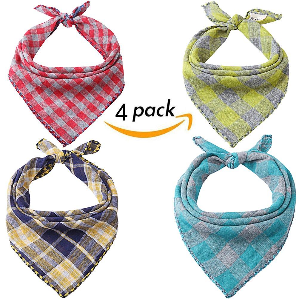 Scenereal Co. Bandana pour chien, motif écossais, accessoires pour chiens, de petite, moyenne et grande taille SAILE UA003-00