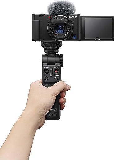 Sony Digital Vlog Camera ZV 1 Compact, Flip Screen, Video Eye AF, 4K Vlogging Camera and Content Creation
