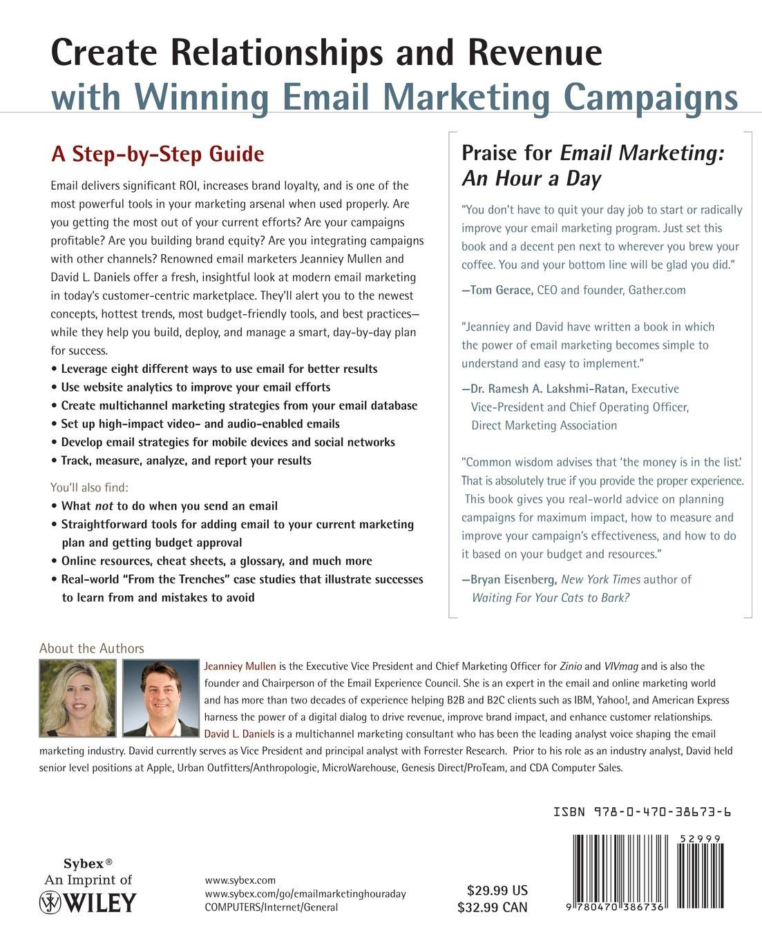 Buy Email Marketing: An Hour a Day Book Online at Low Prices