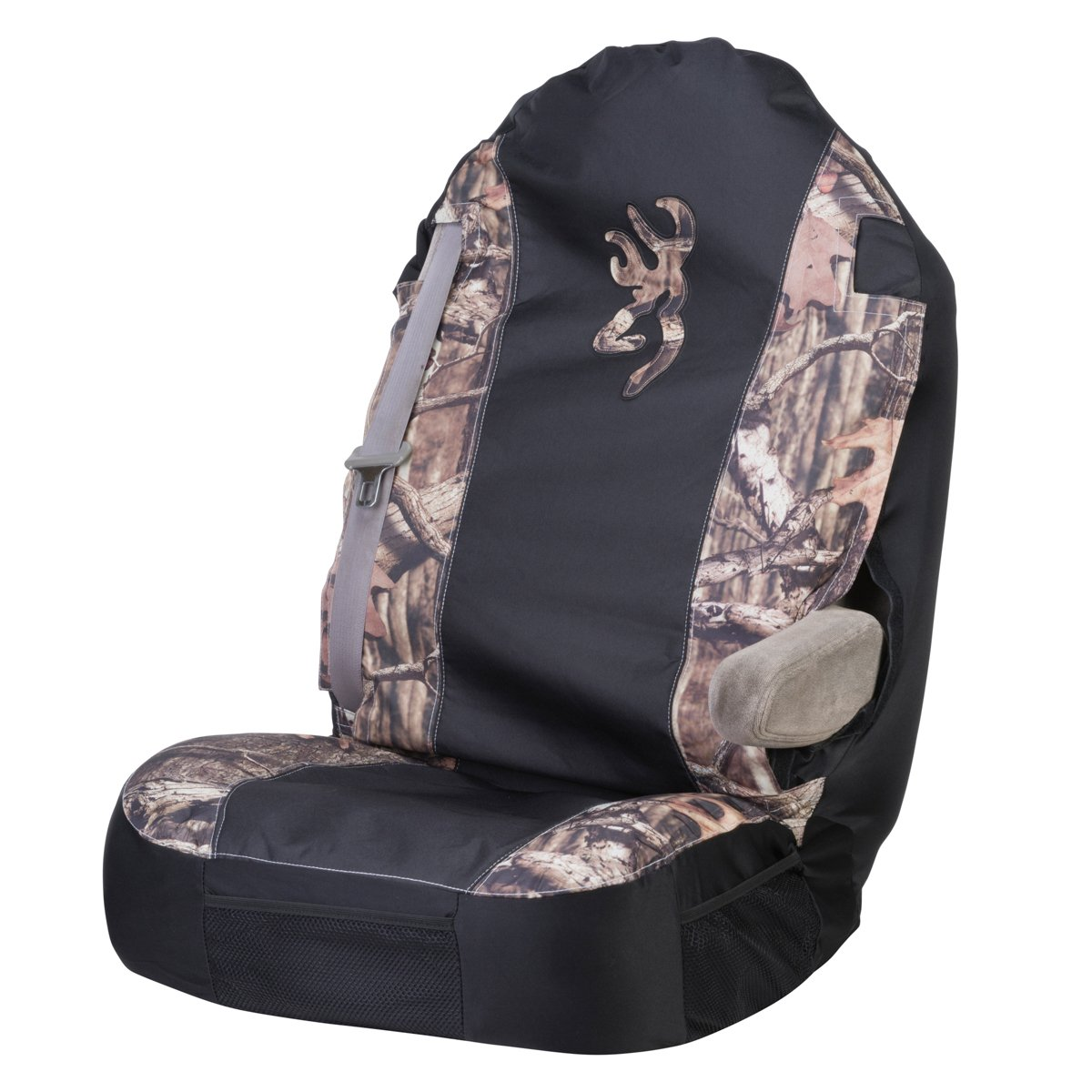 Browning Camo Universal Bucket Seat Cover Mossy Oak Truck Covers Chevy Silverado Break Up Infinity Durable Polyester Fabric Sold Individually Automotive