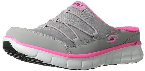 Skechers Synergy Free Play, Mocasines para Mujer, Gris (Grau (Gyhp), 35 EU: Amazon.es: Zapatos y complementos
