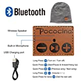 Pococina Upgraded 4.2 Bluetooth Beanie Music Hat