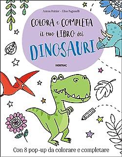 Amazonit Dinosauri Da Colorare Aavv Libri