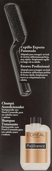 LOreal Paris Preference Mechas Californianas - Tinte, color rubio oscuro , 5 piezas, 200 gr
