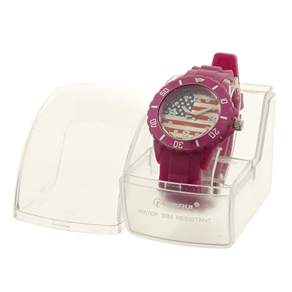 Montre Concept idee regalo-Reloj de pulsera analógico/infantiles para mujer, silicona,