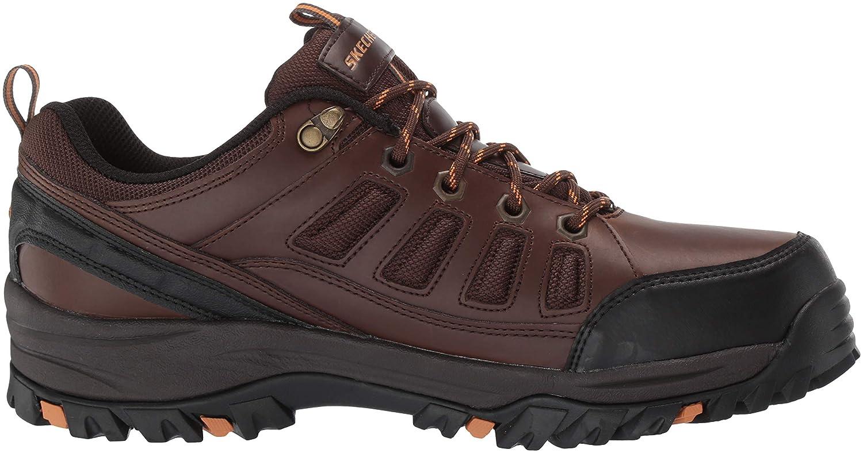 Skechers Mens RELMENT-SEMEGO Waterproof Hiker LO Hiking Shoe dkbr 16 Medium US