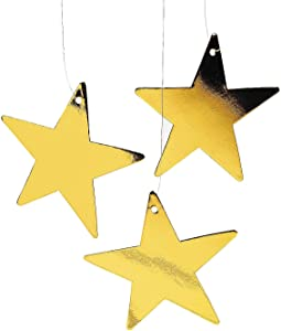 Fun Express Gold Star Decor (1 dz)