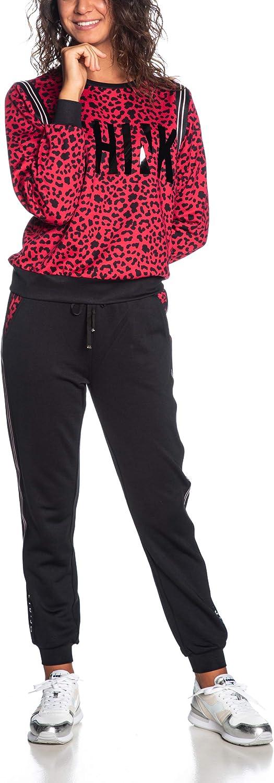 Liu Jo Donna Pantalone Nero Mod LIUT69065 F0779 M